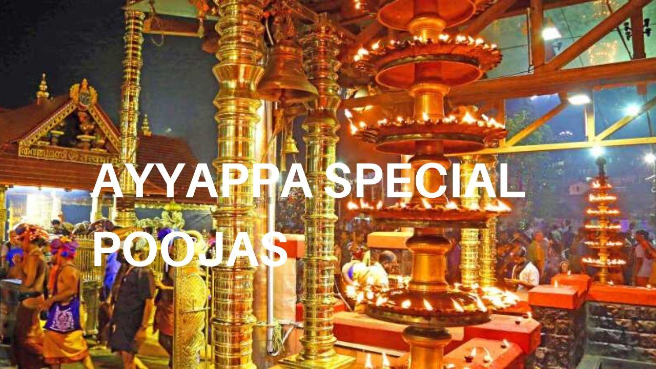 ayyappa special poojas