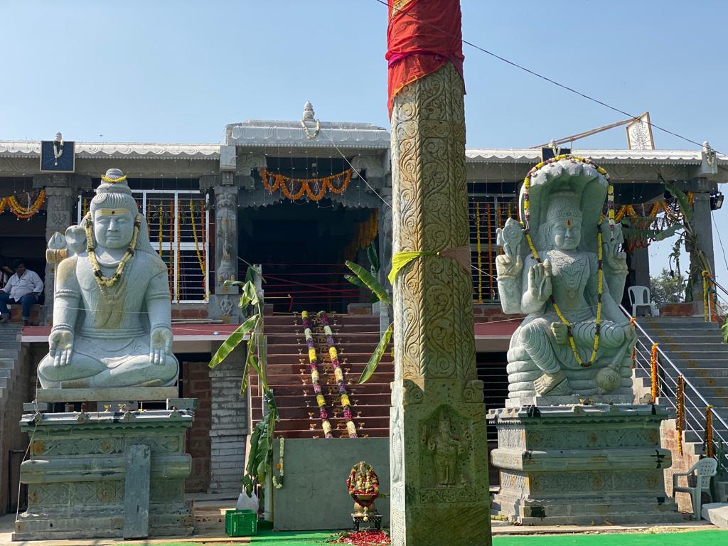 Hari Hara Nandana Ayyappa Swamy Devalayam vigraha pratishta